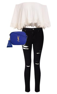 Casual by raven-dh on Polyvore featuring polyvore, fashion, style, Miss Selfridge, Yves Saint Laurent and clothing
