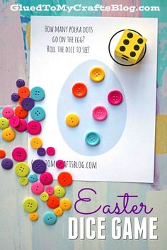 What is Easter without a couple of fun Easter games? The whole family will be able to join in on these DIY and store-bought Easter games for kids. Easter Games For Kids, Easter Crafts For Kids, Easter Ideas, What Is Easter, Spring Activities, Sunday Activities, Children Activities, Holiday Activities, Preschool Games