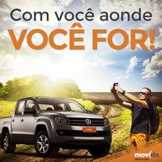 Um só lugar para que, se podemos ir além?  #VáDeMovida descobrir as belezas e maravilhas do Brasil afora.