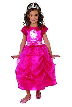 Rubies Hello Kitty Princess Costume, Toddler Size *** You can find more details by visiting the image link.(It is Amazon affiliate link) #HelloKitty