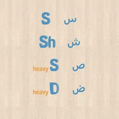 Letters س - ش - ص - ض #arabic #letters #language #learn Learn Arabic Online, Arabic Lessons, Noble Quran, English Letter, How To Pronounce, Arabic Language, Learning Arabic, Vocabulary, Letters