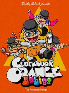 Disturbing Nightmarish Clockwork Orange & Muppet Babies Mashup