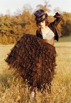 The Steampunk Cowgirl ~ Alyssa Miller by Ellen Von Unwerth Ellen Von Unwerth, Gypsy Style, Boho Gypsy, My Style, Gypsy Chic, Alyssa Miller, Pin Up, Victorian Goth, Steampunk Fashion