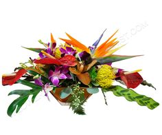 Tropicals are just one of Flowers From The Rainflorists specialties!