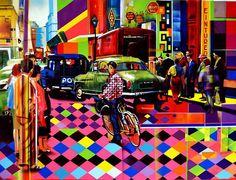 Street art by Eduardo Kobra