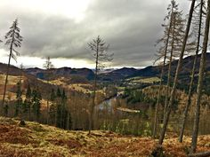 Late February view over the Linn of Tummel #Pitlochry