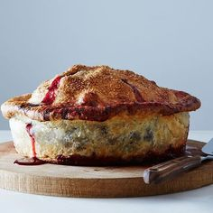 Deep-Dish Cherry Pie by Erin McDowell