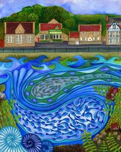 Making Waves Sandsend - Artist Bridget Wilkinson