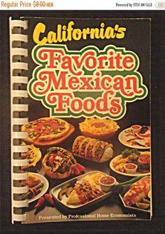 ON SALE  1983 Spiral-bound Cookbook: by 1kingsdaughter on Etsy
