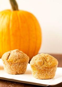 Pumpkin Doughnut Muffins.