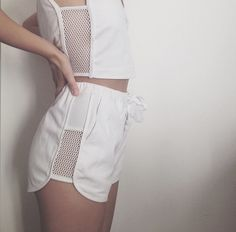 "love the white--even though its not summer anymore we can think of it as ""resort wear"" #wantingtowearwhite"
