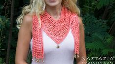 The V Scarf 2019 If you are looking for a scarf that is part triangle and part straight then this crochet V scarf pattern is for you! A DIY crochet project by Donna Wolfe from Naztazia. [] The post The V Scarf 2019 appeared first on Scarves Diy. Crochet Scarves, Crochet Shawl, Crochet Clothes, Crochet Granny, Crochet Afgans, Crochet Crafts, Easy Crochet, Free Crochet, Finger Crochet