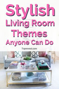 Living rooms are the