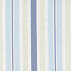 Regal Stripe Sky Fabric by the Yard
