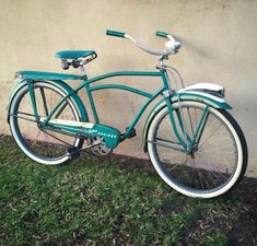 Old Bicycle, Cruiser Bicycle, Bike Parts, Vintage Bicycles, Tricycle, My Ride, Beach Cruisers, Urban, Scooters