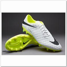 finest selection e81f9 9697e Nike Hypervenom Phantom Ref FG Acc 2014 White Black Volt  60.00 Nike  Football Boots, Football