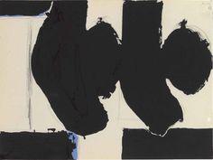 Thunderstruck (Robert Motherwell (American, 1915-1991), Elegy to...)