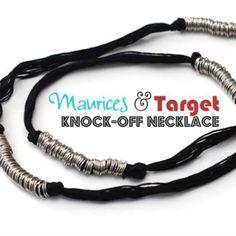 Knock Off Necklace DIY