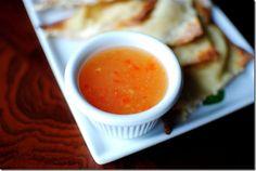 Sweet sour spicy crab Rangoon sauce