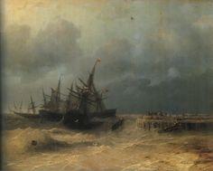 Ivan Aivazovsky - The Rescue