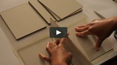 This video shows the process of creating a box from scratch at The Binding Studio. Watch the amazing skills of Louise James and Iranna Ashton as they work together… Diy Gift Box, Diy Box, Diy Gifts, Cardboard Box Crafts, Paper Crafts, Shadow Box Kunst, Handmade Books, Book Binding, Book Making