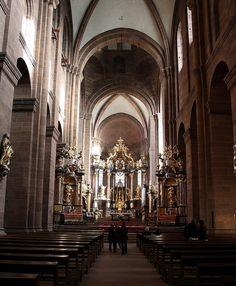 Worms. Catedral. Interior. Vista de l'altar major | da Pilar Torres