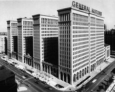 General Motors Building (now Cadillac Place), Detroit, Michigan, Albert Kahn Associates, 1919-1922.