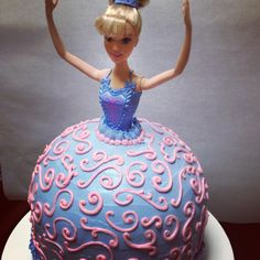 Barbie cake, my grandma made these for us when we were little. My mom made me one for my 21st...I wish I could have one for my 26th