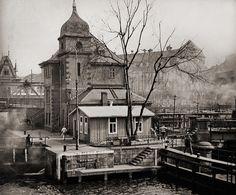 Berlin before the wars, ca. 1910 | Blick von der Burgstrasse auf den Mühlendamm | by ookami_dou