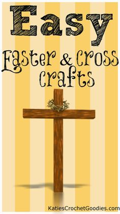Easy Religious Crafts for Easter: Crosses and More