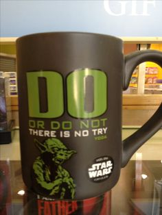 I am in search of this mug - if you find it/see it please contact me ASAP.    Yoda mug