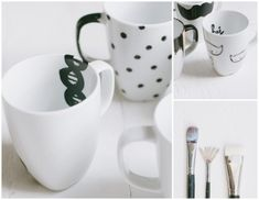 the {simplest} diy coffee mugs awesome ideas for personalized presents? ; )