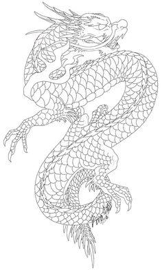 Japanese Dragon by VaraAnn on DeviantArt - Japanese Dragon by VaraAnn on Devian. - Japanese Dragon by VaraAnn on DeviantArt – Japanese Dragon by VaraAnn on DeviantArt – - Dragon Tattoo Outline, Dragon Tattoo Stencil, Dragon Tattoo Drawing, Dragon Tattoo For Women, Dragon Sleeve Tattoos, Japanese Dragon Tattoos, Dragon Tattoo Designs, Tattoo Stencils, Chinese Dragon Drawing