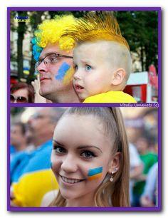 Ukrainian football fans - EURO 2012