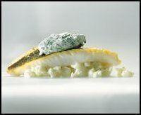 Zonnevis met witloof op z'n Ternats en beurre blanc-saus met witbier