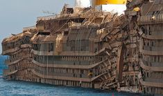 The rusting wrecks of abandoned ferries, cruise ships, ocean liners and even retro hovercraft make for impressive and eerie sights. This article examines a series of such ill-fated vessels, with both tragic and weird tales to tell.
