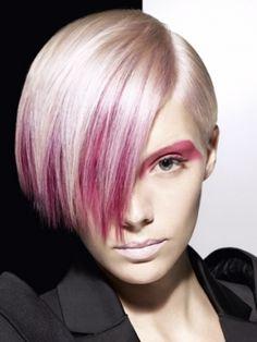 Vidal Sassoon Pink Punk Hair