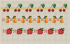 Thrilling Designing Your Own Cross Stitch Embroidery Patterns Ideas. Exhilarating Designing Your Own Cross Stitch Embroidery Patterns Ideas. Cross Stitch Boarders, Cross Stitch Fruit, Small Cross Stitch, Cross Stitch Kitchen, Cross Stitch Flowers, Cross Stitch Charts, Cross Stitch Designs, Cross Stitching, Cross Stitch Embroidery