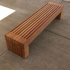 Palisade Bench by Landscape Forms.