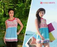 Beach wear or Outdoor attire? Who cares, this indo-western top makes both the looks stunning smile emoticon #TribalMix #SS15 #FreeSpirit