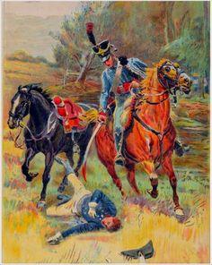 Ussaro francese colpisce a morte il principe di Prussia