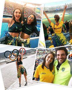 #MomentoGigante: Uma tarde para recordar!  As histórias e os cliques memoráveis das minhas Fhits influencers durante o maior evento esportivo que conectou o mundo! Foi inesquecível!  #FhitsRio #FhitsTeam @clarobrasil