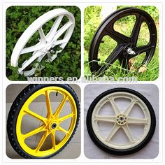 "Source 16"" 20"" 24"" 26"" bicycle tralier wheel 16 inch plastic wheel on m.alibaba.com"