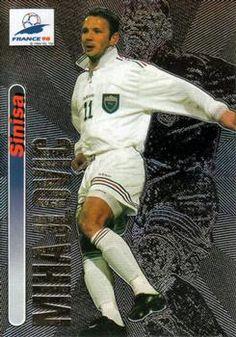 1998 Panini World Cup #12 Sinisa Mihajlovic Front