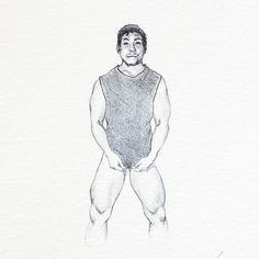 @o_lee_verr, from a photo reference. Graphite on paper. . . . . . . . #guy #hunk #malebeauty #drawing #sketching #graphite #sketch #figuredrawing #figurativeart #malemodel #dessin #dibujo #graphitedrawing #pencildrawing #artistslife #originalartworks #drawingoftheday Graphite Drawings, Drawing Sketches, Pencil Drawings, Sketching, Photo Reference, Male Beauty, Figure Drawing, Figurative Art, Original Art