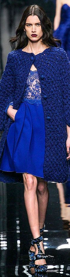Milan Fashion Week.          Ermanno Scervino.           Fall 2015.           Ready-To-Wear.