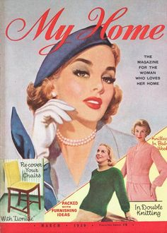 My Home magazine from March 1959 - New Zealand edition.