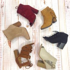 Booties are our favorite accessories! 😍👢 #xoxoAL4You #booties #fallfashion #favaccessories #shoplocal