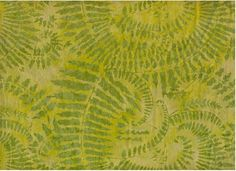 Fern batik print from Bali