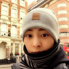 "Xiumin - ""London Boy >.<!!""   exoxm90 Instagram Update"